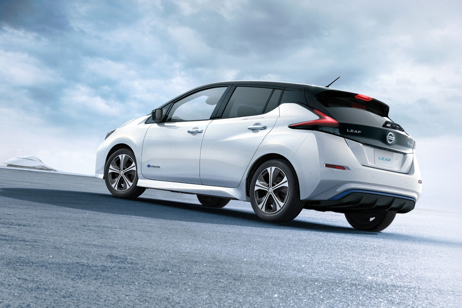 El nuevo Nissan Leaf llegará a los concesionarios a comienzos del año que viene.