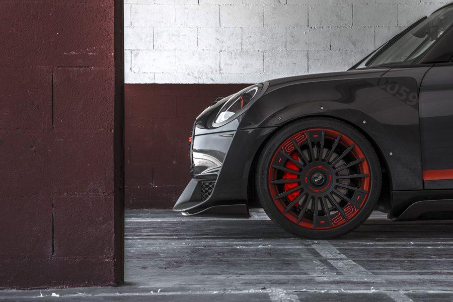 Las ruedas que se iluminan según la velocidad del coche