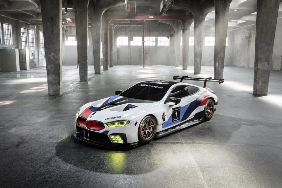 BMW M8 GTE, los colores de BMW Motorsport de nuevo en Le Mans