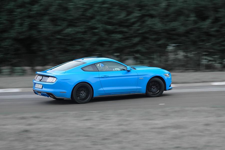 Prueba del Ford Mustang GT Fastback 2017 1
