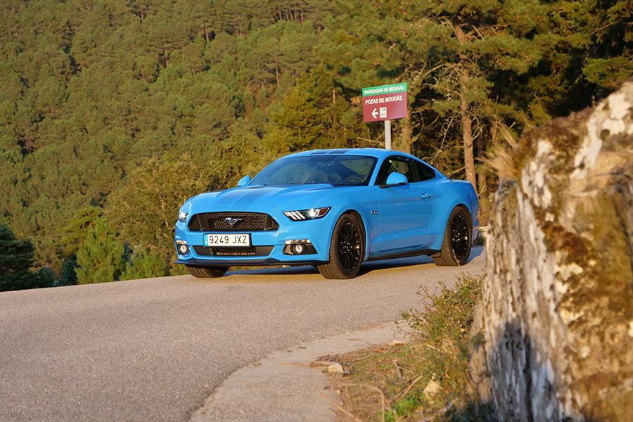 El Ford Mustang actual puede presumir de unas formas que unen a la perfección pasado y presente.