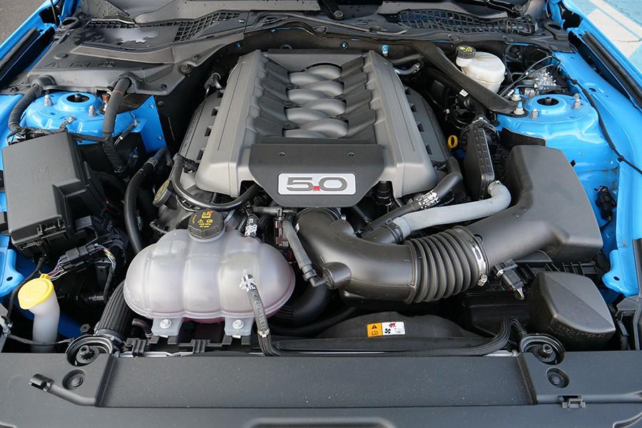 El motor es una delicia para los oídos.