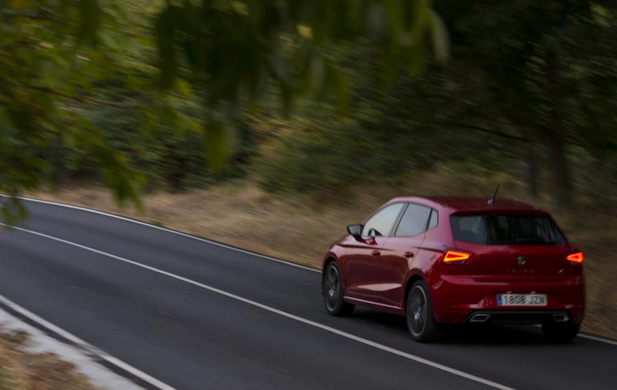 Seat Ibiza incorpora de seria pilotos LED.
