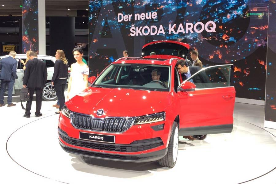 Skoda lleva el Karoq a Frankfurt