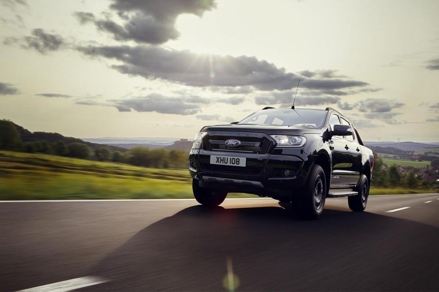 Ford Ranger Black Edition, la edición limitada más oscura debuta en Frankfurt