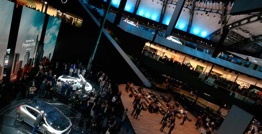 Vídeo resumen del Salón del Automóvil de Frankfurt 2017