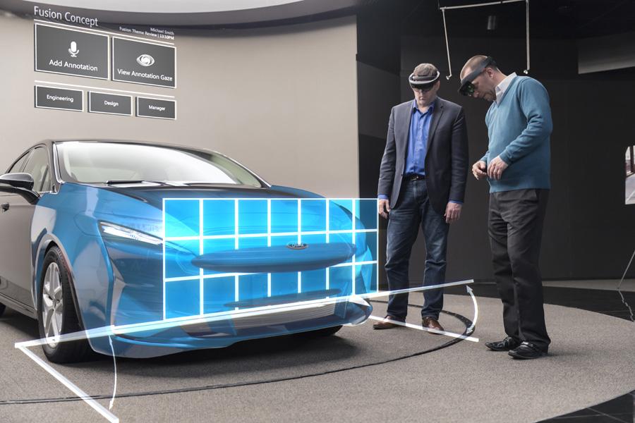 Ford diseña con realidad virtual