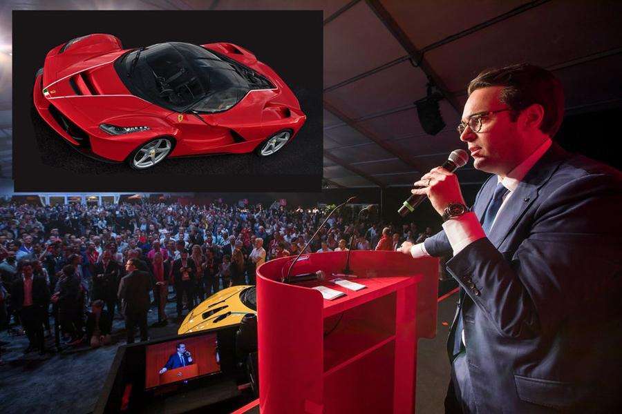 Ferrari batirá récords ayudando a los niños