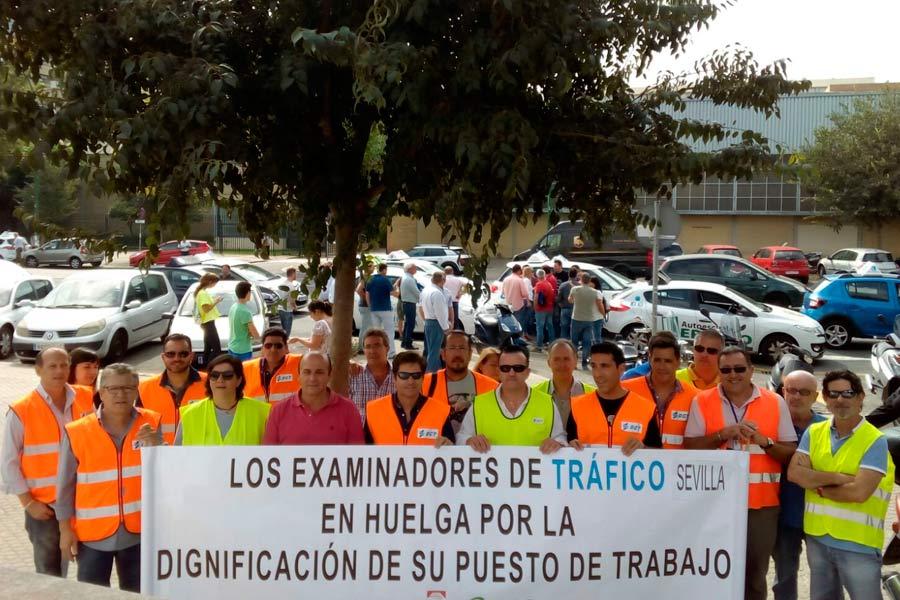 Huelga de examinadores de tráfico, un conflicto sin final a la vista