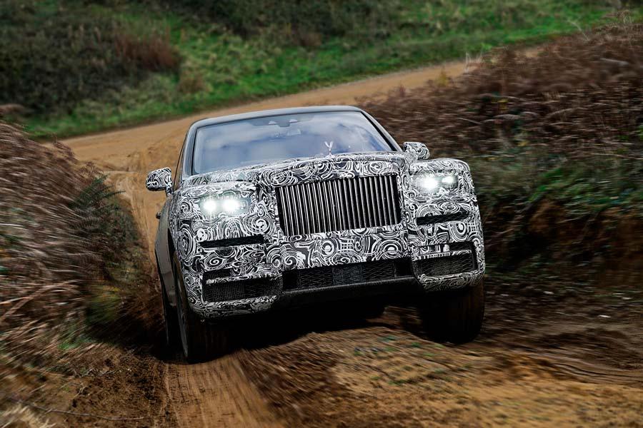 Rolls-Royce Cullinan, confirmado el nombre del SUV más lujoso