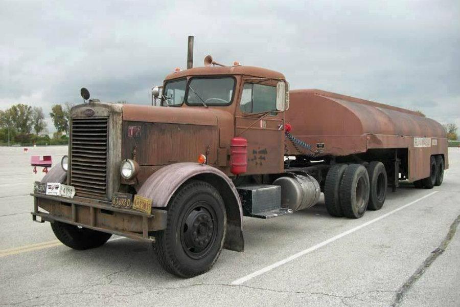 Este viejo camión mantiene en tensión al espectador durante todo el filme