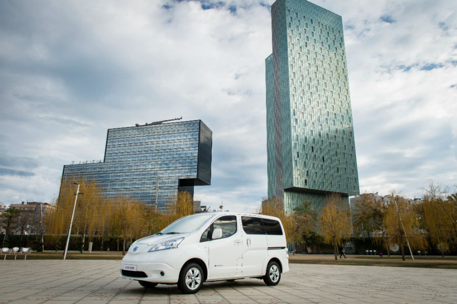 Nissan e-NV200, la furgoneta eléctrica llega más lejos