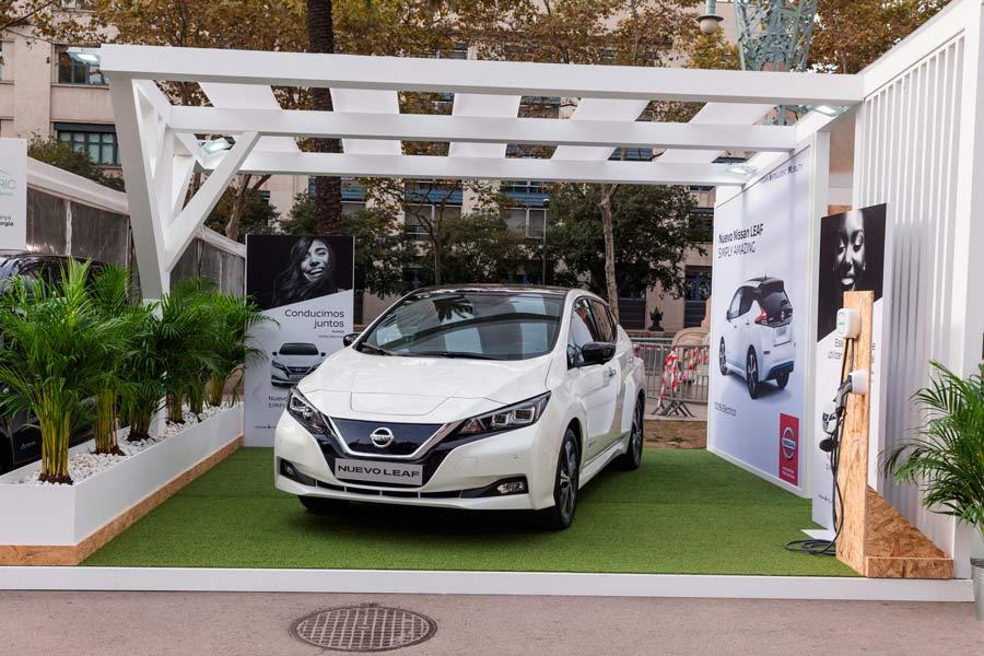 El nuevo Nissan Leaf se presenta en Barcelona.