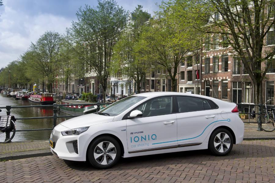 Hyundai pone en marcha su sistema de carsharing