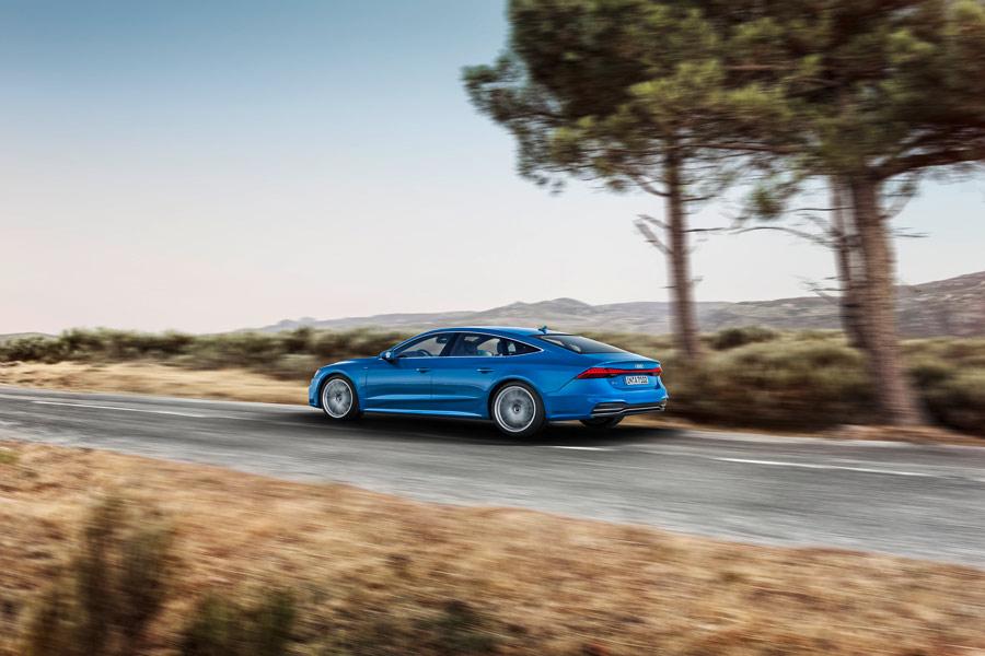 Así es el nuevo Audi A7 Sportback.