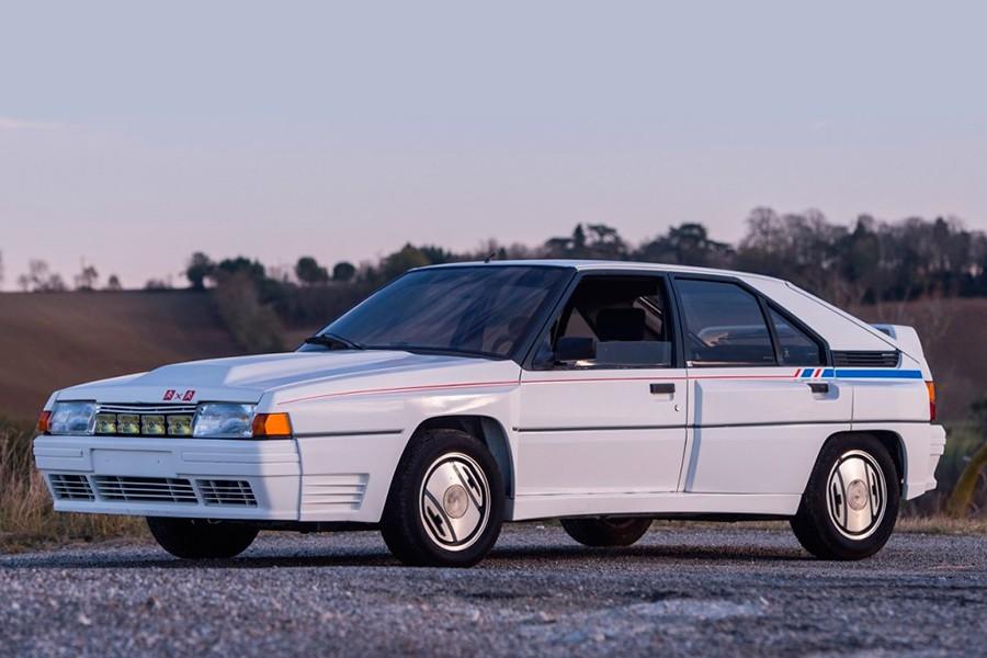 El Citroën BX 4TC es uno de los Grupo B más raros.