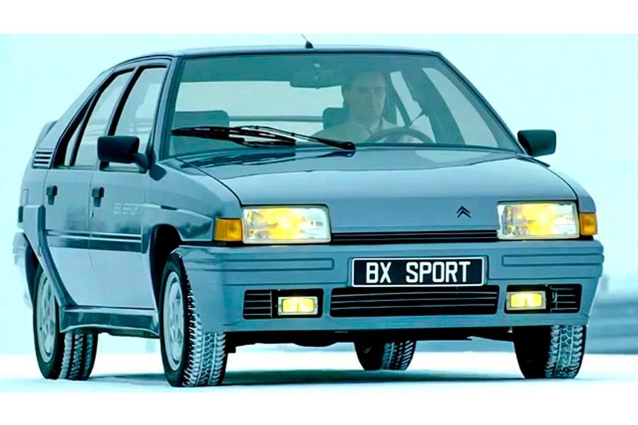 Feliz 35 cumpleaños del Citroën BX