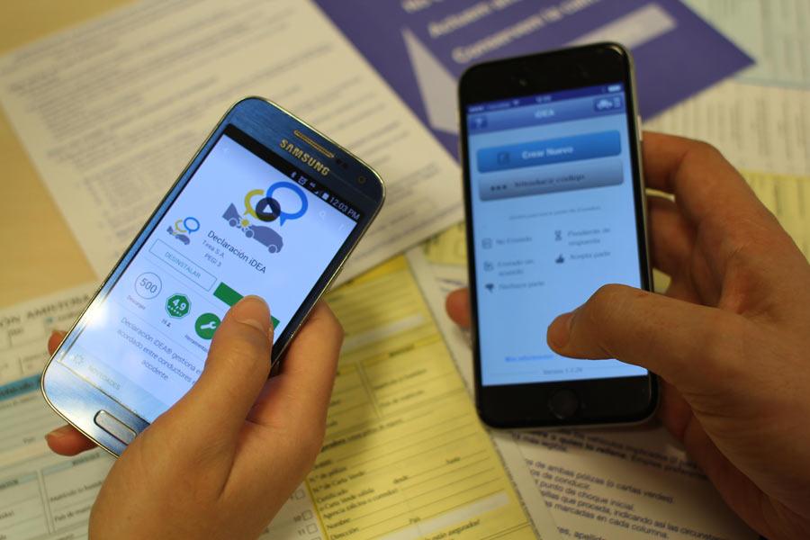 Declaración iDea: presenta tu parte de seguro a través de una app