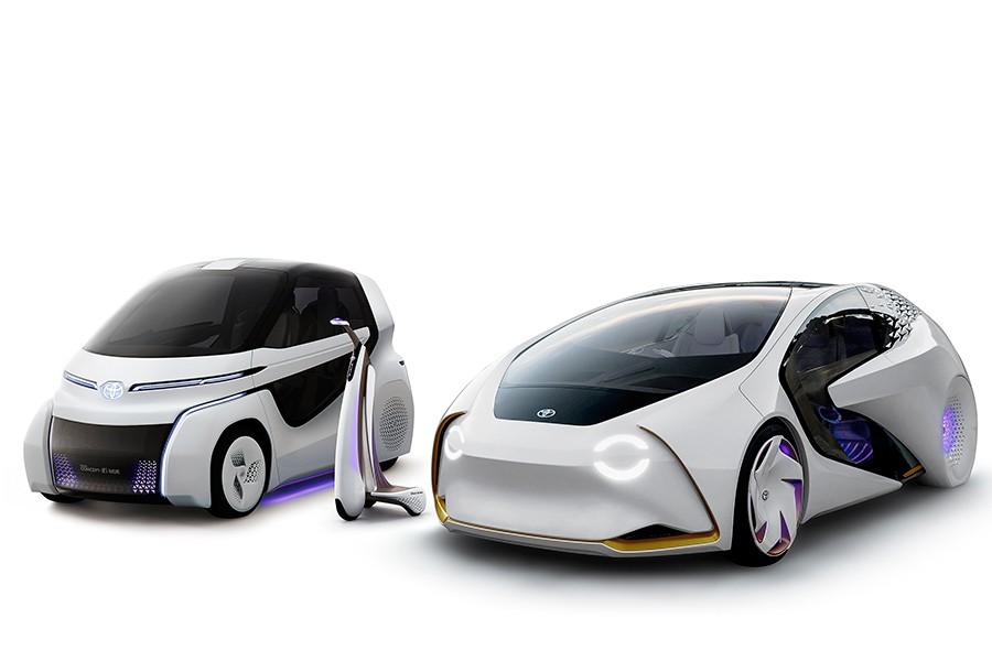 El futuro de la movilidad de Toyota se llama Concept i