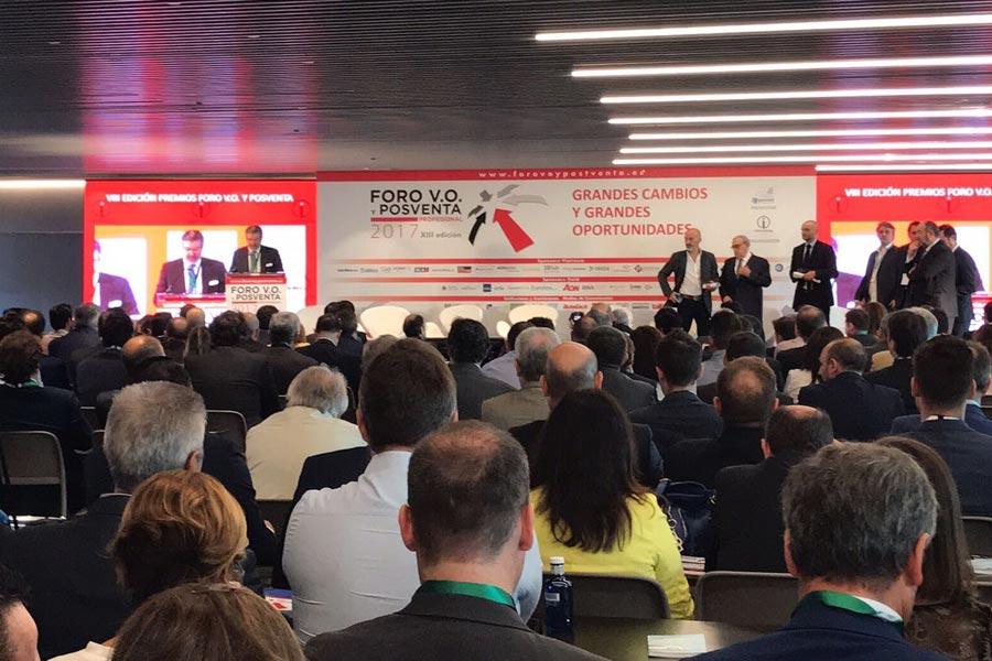 El Foro V.O. y Postventa del pasado martes en Madrid fue todo un éxito de asistencia.