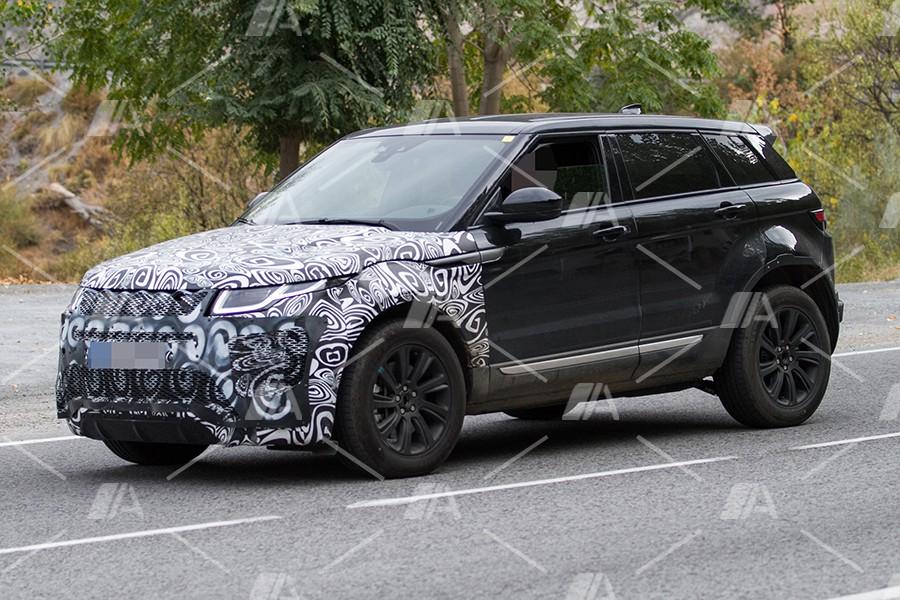 Fotos espía del nuevo Range Rover Evoque 2019