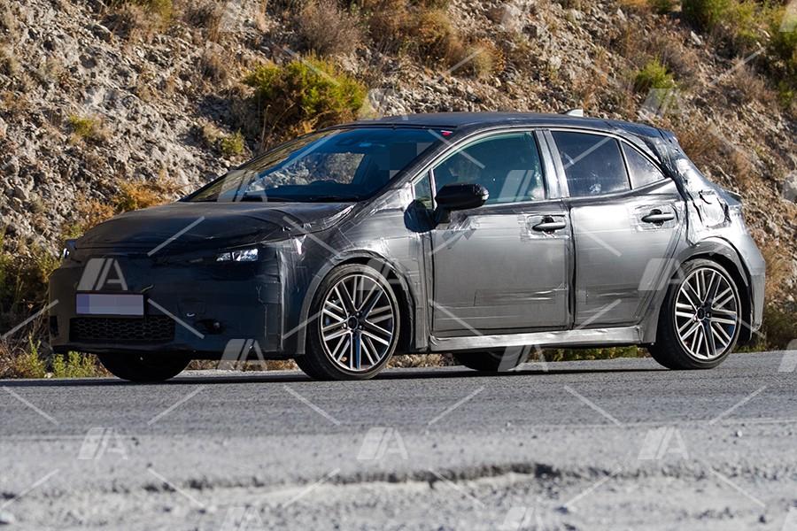 Fotos espía del nuevo Toyota Auris 2019