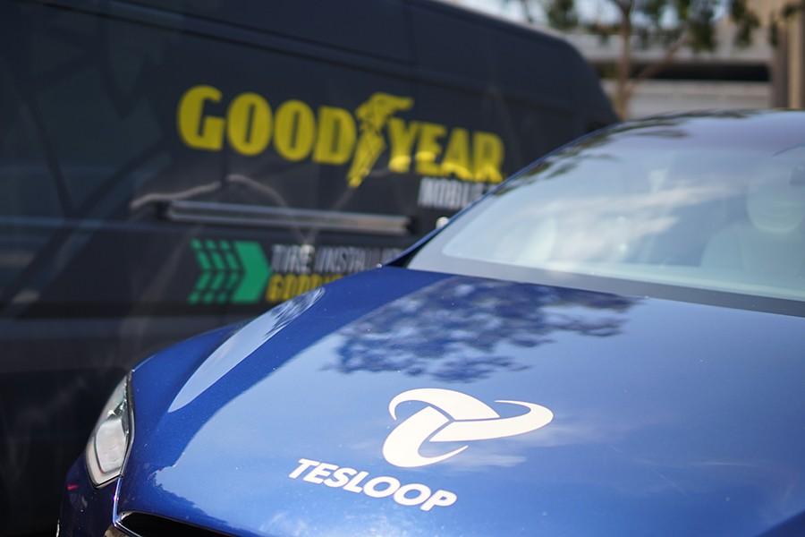 """Goodyear, Tesla y las ruedas """"que hablan"""""""
