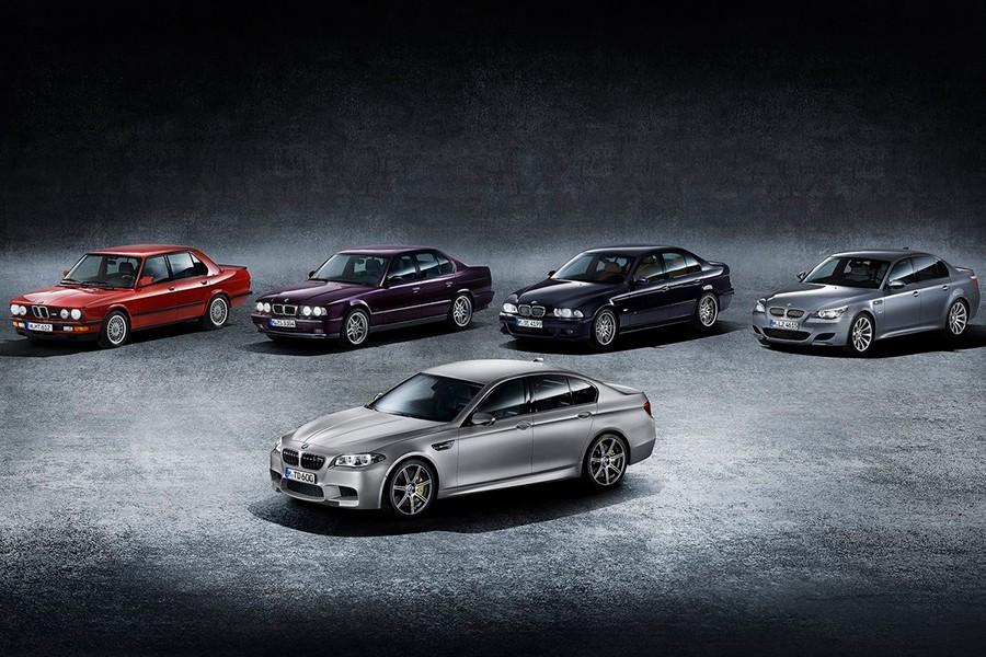 La apasionante historia del BMW M5