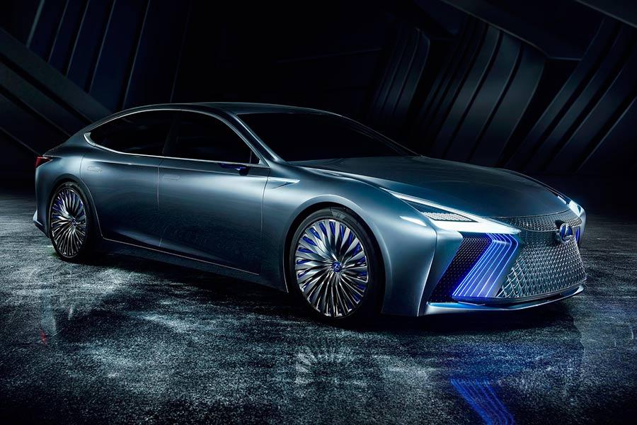 Lexus LS+ Concept: una mirada al futuro más próximo