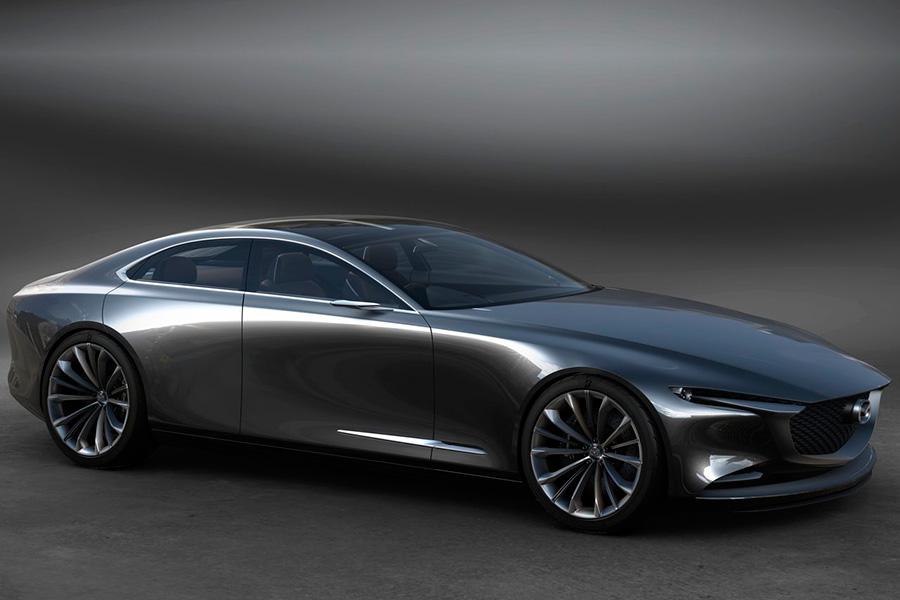 Mazda Vision Coupé, un prometedor y elegante futuro
