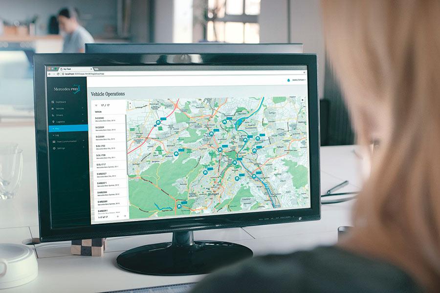 Mercedes PRO: una nueva forma de conectarte en tu trabajo