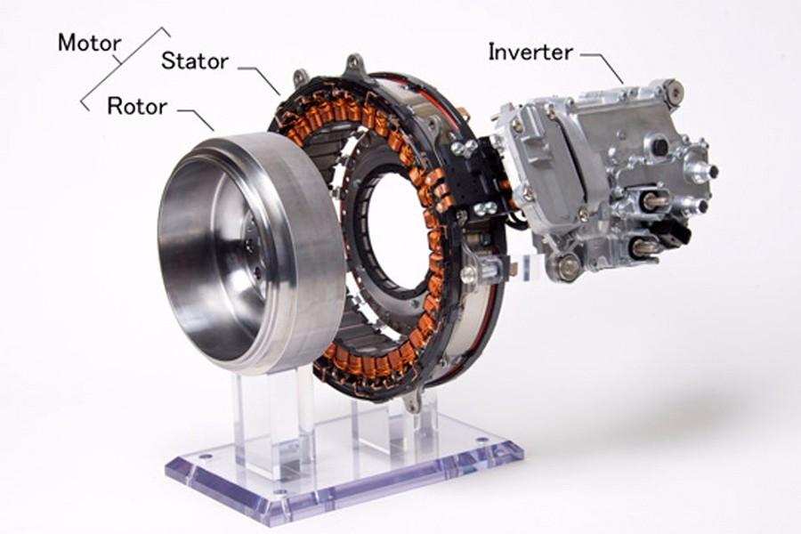 Mitsubishi integra el motor eléctrico en el cigüeñal de los híbridos