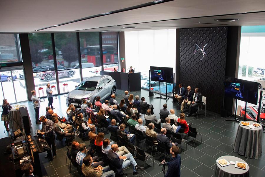 La presentación en Madrid del DS7 Crossback ha servido para relanzar la marca.
