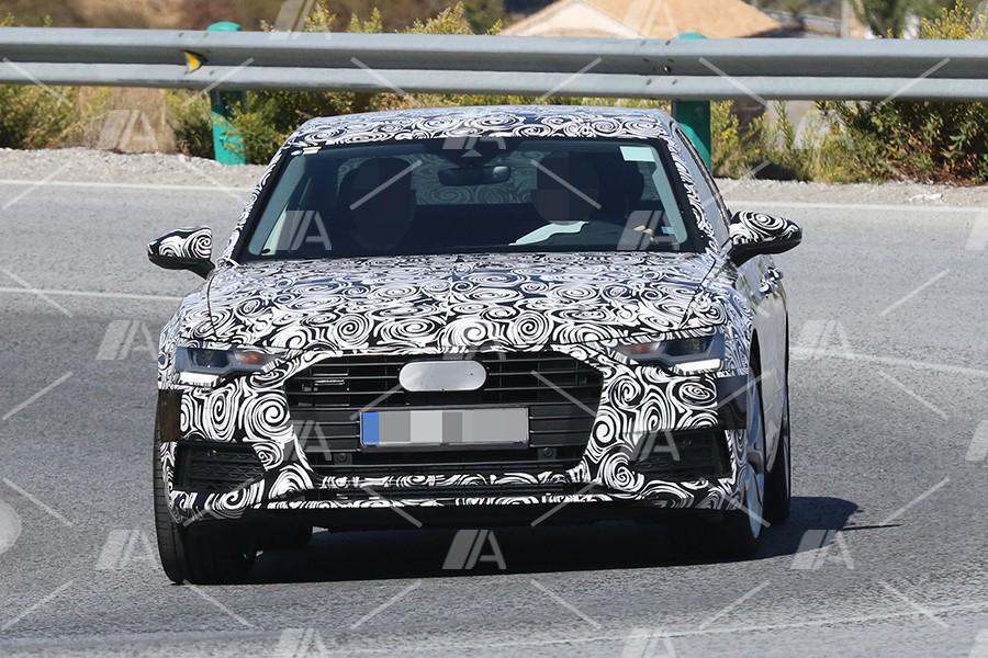 Nuevas fotos espía y detalles del Audi A6 2018