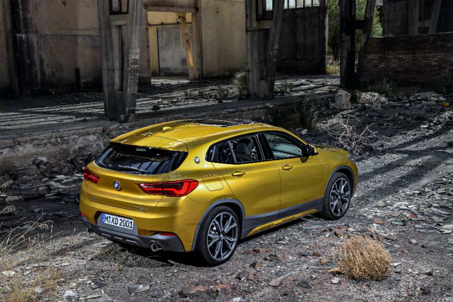 El X2 es el sexto miembro de la familia SUV de BMW.