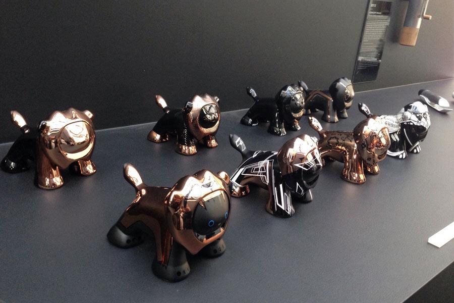 Los otros leones de Peugeot, así es la nueva colección del Design Lab