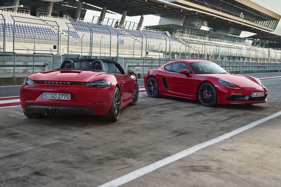 Nuevo Porsche 718 GTS: más potencia para el Cayman y el Boxster