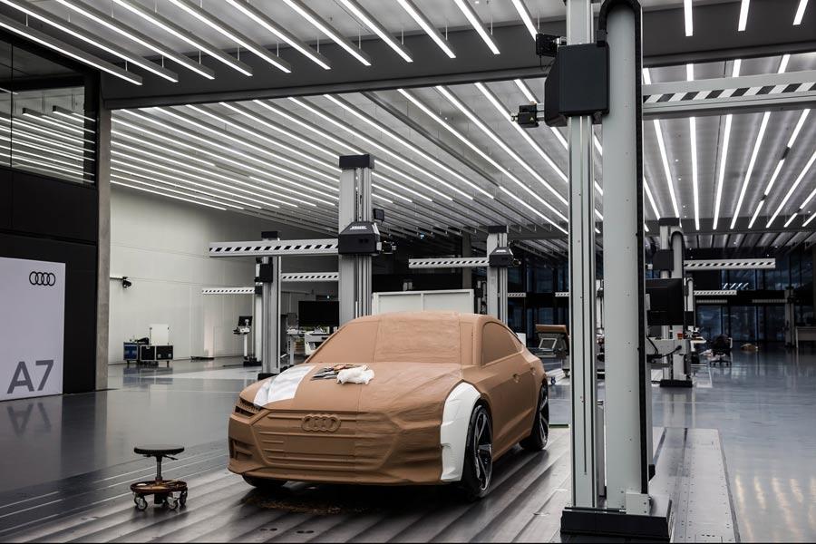 Así es el nuevo diseño de coches de Audi