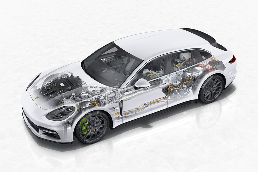 El Sport Turismo está disponible desde el 4S hasta el todopoderoso Turbo S E Hybrid.