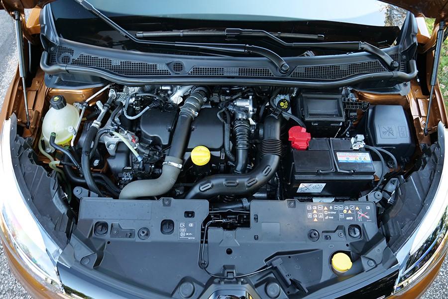 El motor dCi de 110 CV tiene una respuesta muy agradable y consumos ajustados.