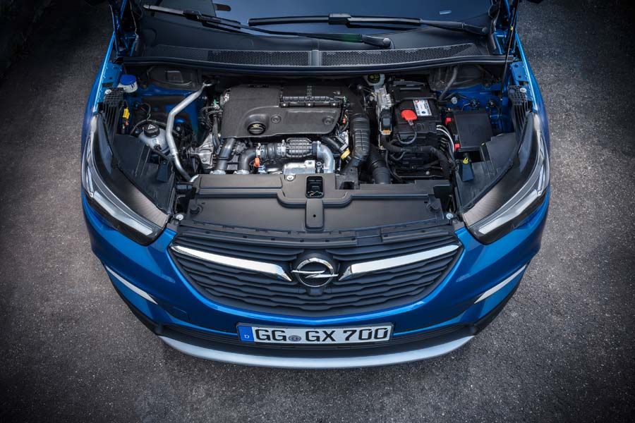 El cambio automático solo está disponible con el motor diésel.