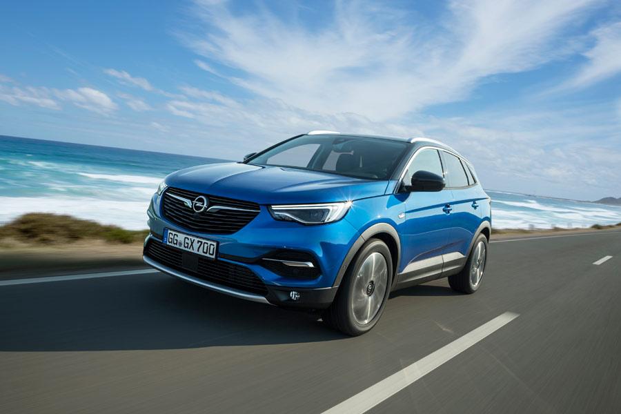 El Opel Gradnland X está muy bien aislado del ruido de la mecánica.