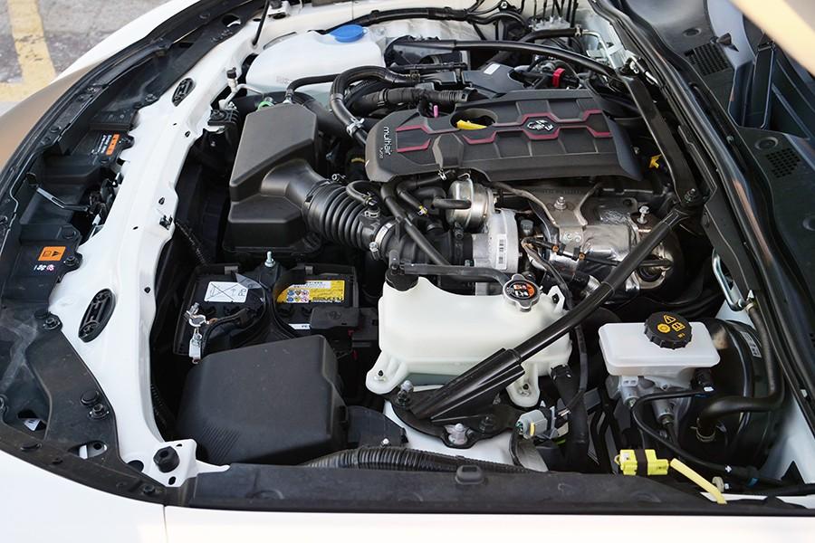 El motor 1.4 turbo tiene un rendimiento muy bueno.