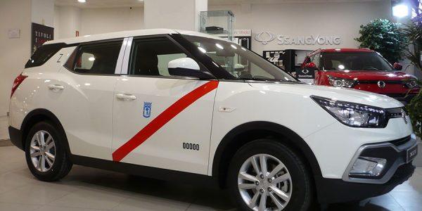 SsangYong XLV G16 GLP: nuevo taxi de gas