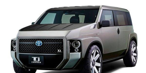 Toyota TJ Cruiser Concept: ¿SUV o monovolumen?
