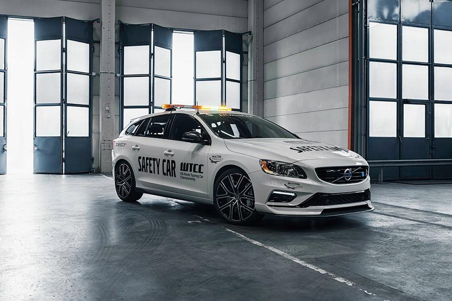Volvo V60 Polestar WTCC 2018: el Safety Car más seguro, ahora más rápido
