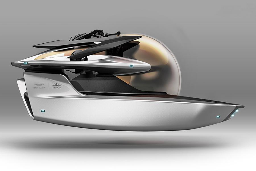 Aston Martin, en las profundidades del océano