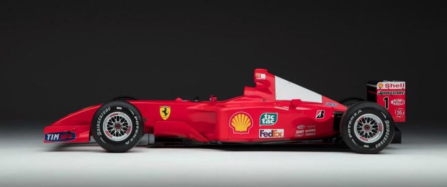 El Ferrari F1 de Michael Schumacher podrá considerarse como arte contemporáneo.