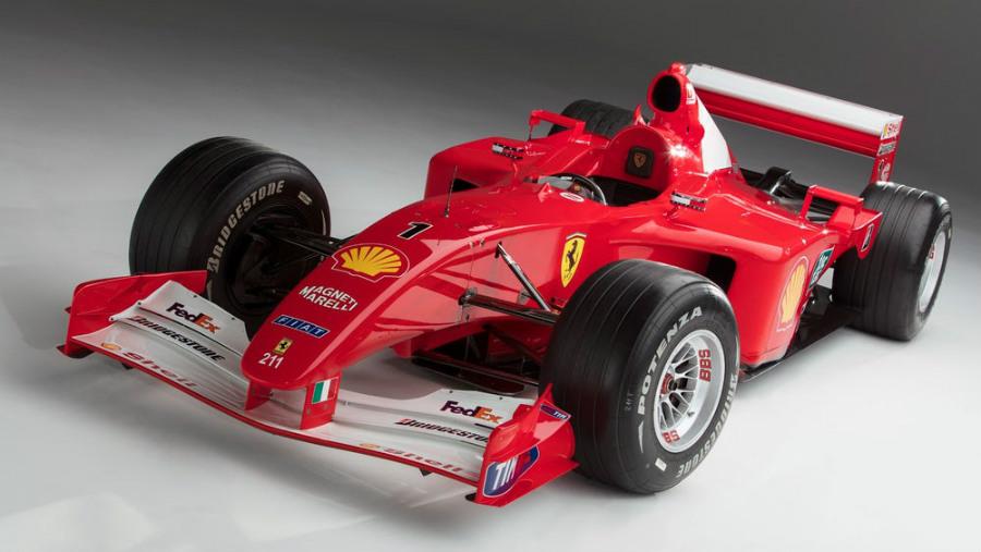 Con este Ferrrari ganó, Michel Schumacher, su cuarto título mundial.