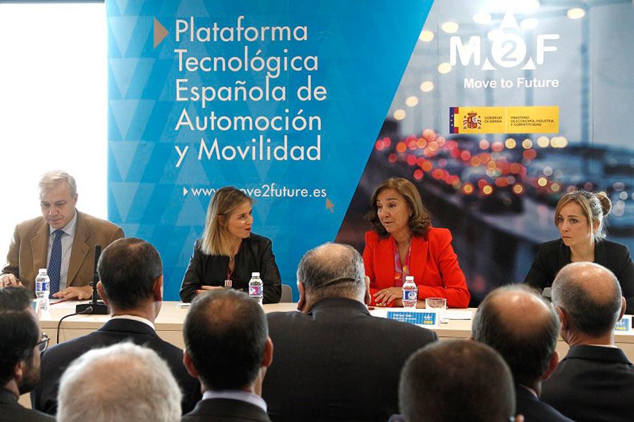 La automoción, ejemplo en I+D+i en España